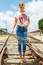 Ryleigh Distressed Crop Skinny Jean