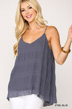Pleated Lined Tank