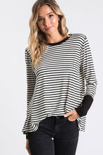 Striped Print Top