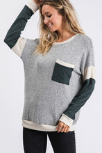 Comfy Color Block Top
