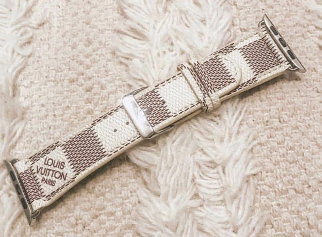 LV Azur Apple watch band