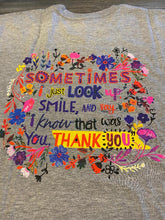 S/S Thank You Tee Shirt