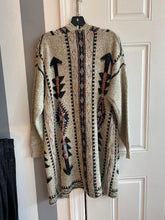 Avery Aztec Pattern Knitted Cardigan