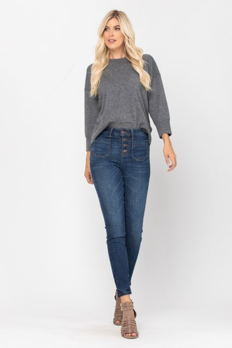 Judy Patch Pocket Skinny