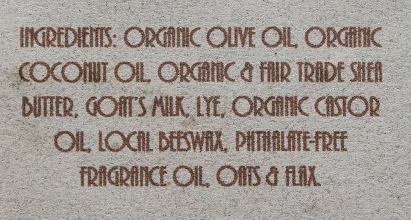Sandalwood, Oats & Flax