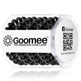 Goomee | The Markless Hair Loop in Midnight Black Pk of 4