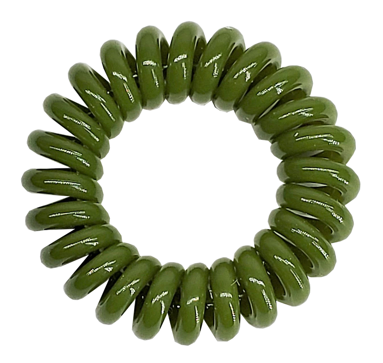"Active The Markless Hair Loop (Box of 4) - Green ""Tough As Turf"""