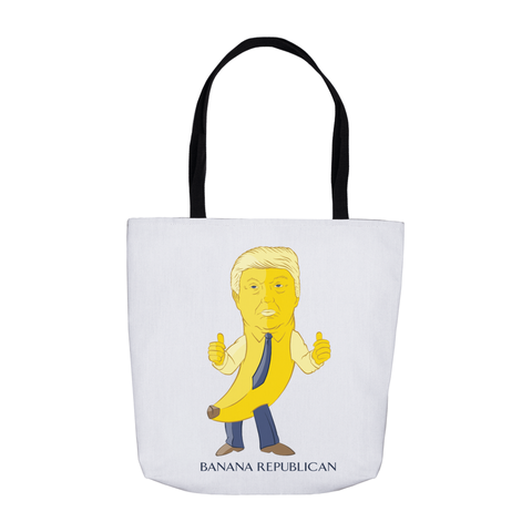 Banana Republican Tote Bag - punpantry