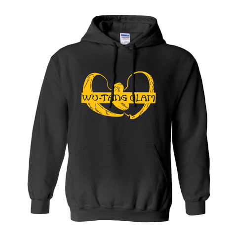 Wu-Tang Clam Hooded Sweatshirt - punpantry