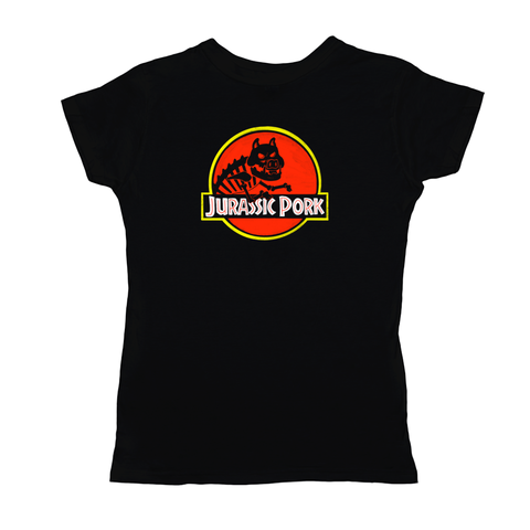 Jurassic Pork Women's Shirt - punpantry