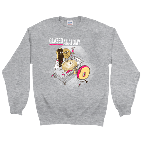 Glazed Anatomy Crewneck Sweatshirt - punpantry