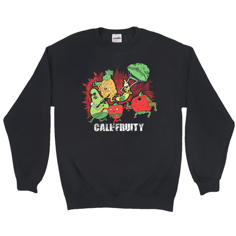 Call Of Fruity Crewneck Sweatshirt - punpantry