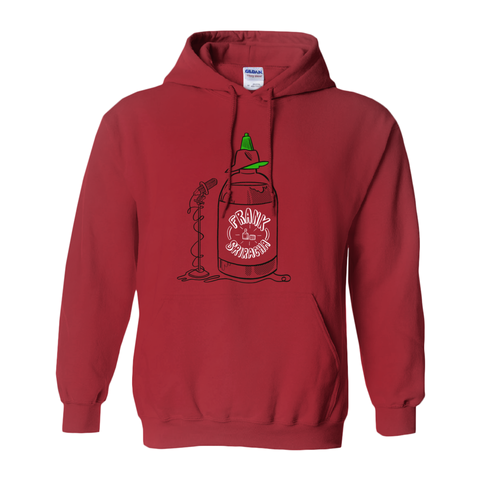Frank Sriracha Hooded Sweatshirt - punpantry