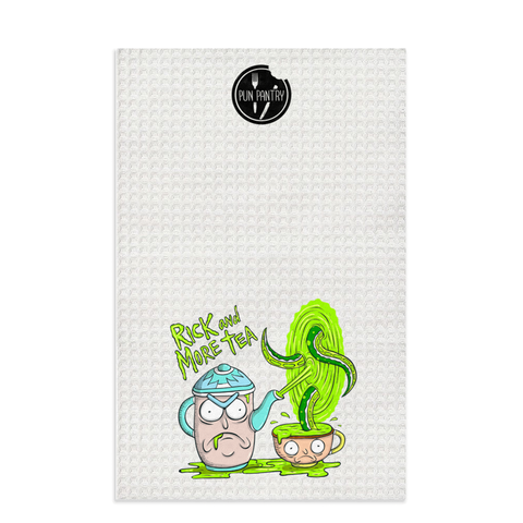 Rick & More Tea Dish Towel - punpantry