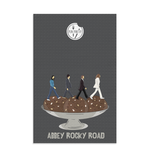 Abbey Rocky Road Dish Towel - punpantry