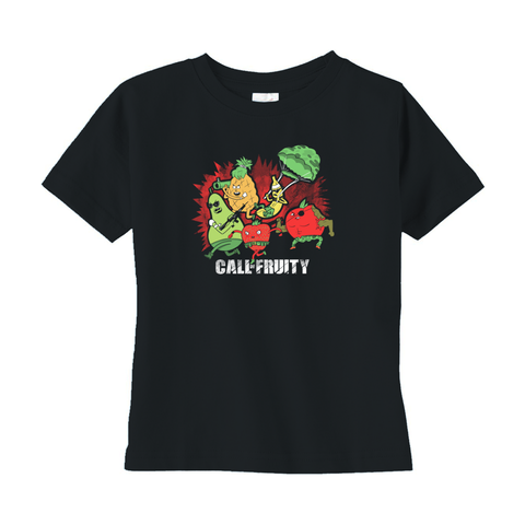 Call Of Fruity Kid's Shirt - punpantry