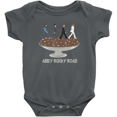 Abbey Rocky Road Baby Onesie - punpantry