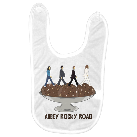 Abbey Rocky Road Baby Bib - punpantry