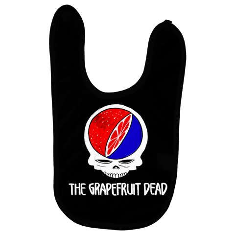 The Grapefruit Dead Baby Bib - punpantry