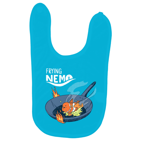 Frying Nemo Baby Bib - punpantry