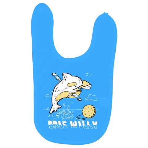 Brie Willy Baby Bib - punpantry