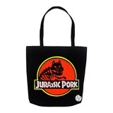 Jurassic Pork Tote Bag - punpantry