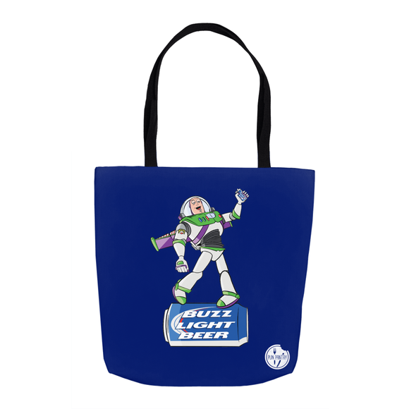 Buzz Light Beer Tote Bag - punpantry