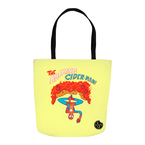 Cider Man Tote Bag - punpantry