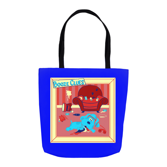 Booze Clues Tote Bag - punpantry