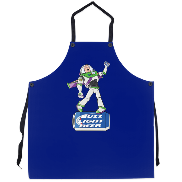 Buzz Light Beer Apron - punpantry