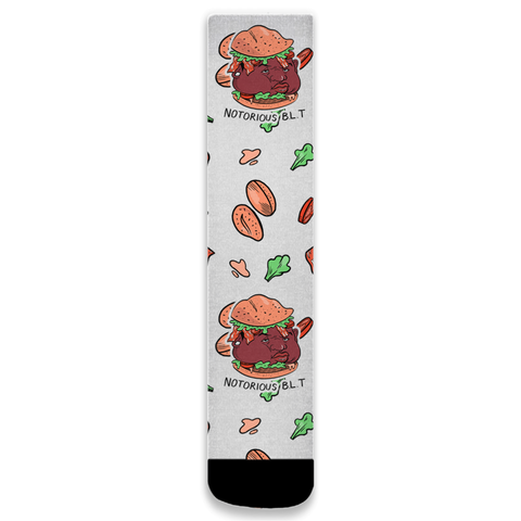 Notorious BLT Socks - punpantry
