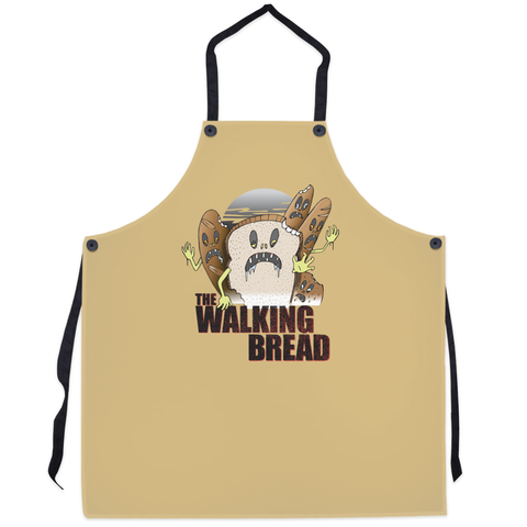 The Walking Bread Apron - punpantry