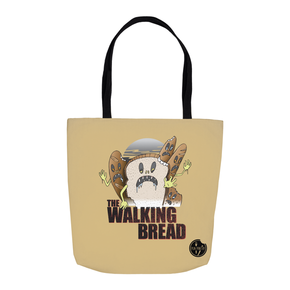 The Walking Bread Tote Bag - punpantry