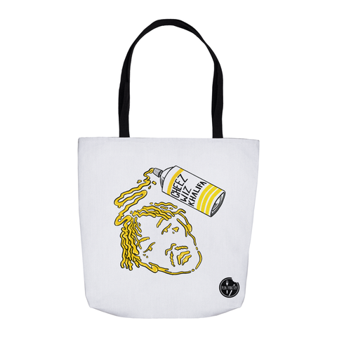 Cheez Wiz Khalifa Tote Bag - punpantry