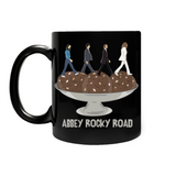 Abbey Rocky Road Ceramic Mug - Black - punpantry