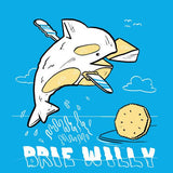 Brie Willy T-Shirt - punpantry
