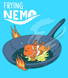 Frying Nemo Magnet - punpantry