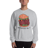 Notorious BLT Crewneck Sweatshirt (Gray) - punpantry