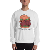 Notorious BLT Crewneck Sweatshirt (White) - punpantry