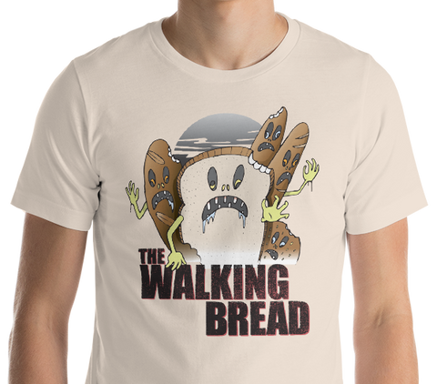 The Walking Bread T-Shirt - punpantry