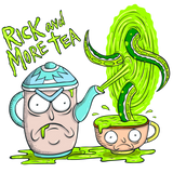 Rick & More Tea T-Shirt - punpantry