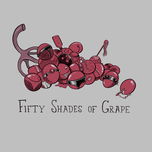 50 Shades Of Grape Greeting Card