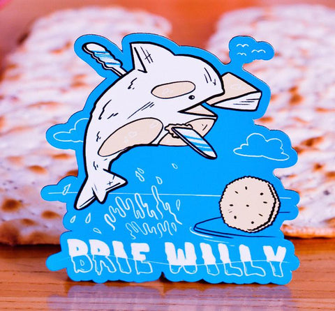 Brie Willy Magnet - punpantry