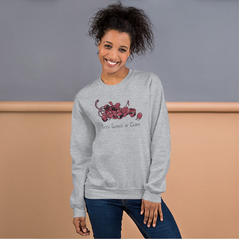 50 Shades Of Gray Crewneck Sweatshirt - punpantry