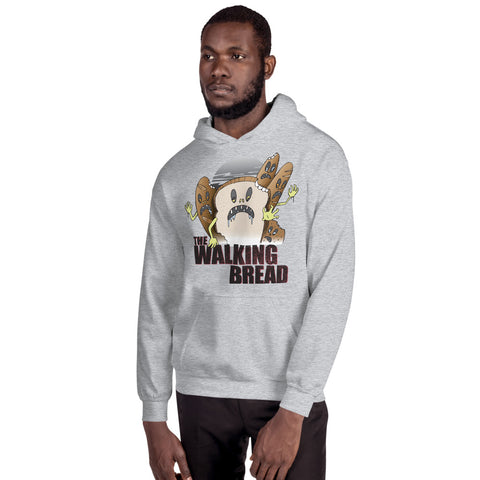 The Walking Bread Hooded Sweatshirt - punpantry