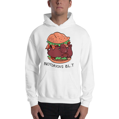 Notorious BLT Hooded Sweatshirt - punpantry
