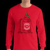 Frank Sriracha Long Sleeve T-Shirt - punpantry