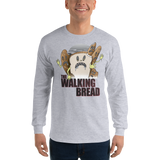 The Walking Bread Long Sleeve T-Shirt (3 Color Options) - punpantry