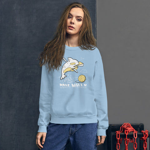 Brie Willy Crewneck Sweatshirt - punpantry