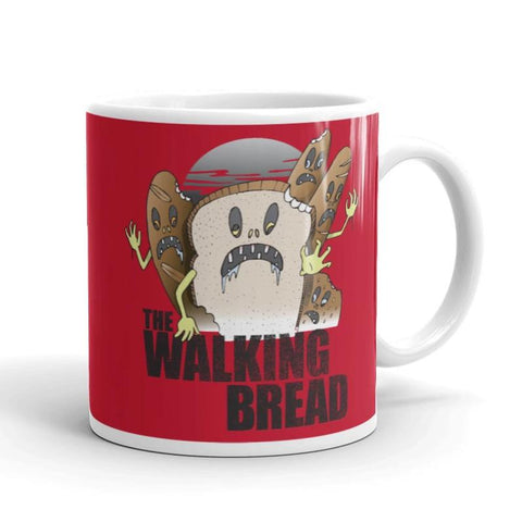 The Walking Bread Ceramic Mug - punpantry